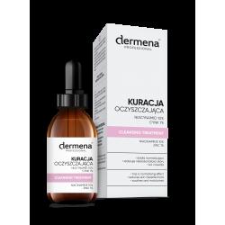 dermena® PROFESSIONAL Kuracja oczyszczająca Niacynamid 10% | Cynk 1% (20 ml)